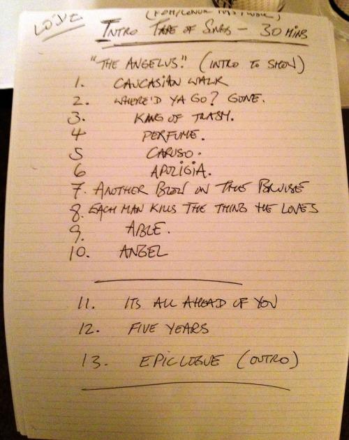 Lodz-setlist-handwritten