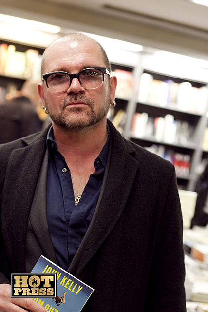 Gavin Friday at John Kelly's 'From Out of the City' book lauch